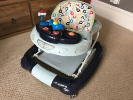 My Child Walk n Rock 2 in 1 Baby Walker - Blue: £20