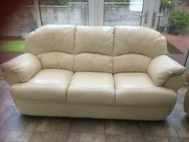 Leather sofa needing gone ASAP