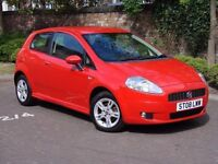 EXCELLENT LOOKS!!! 2008 FIAT GRANGE PUNTO 1.4 ACTIVE SPORT 3dr, 1 YEAR MOT, WARRANTY