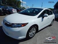 2012 Honda Civic Sdn LX **33,62$/sem**