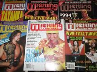 WRESTLING MAGAZINES X 6 FROM 1995 PRO WRESTLING other magazines for sale