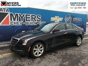 2016 Cadillac ATS LUXURY ALL WHEEL DRIVE, SUNROOF, HEATED LEATHE