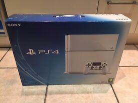 Sony Playstation 4 WHITE UNOPENED