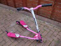 Flicker Scooter Pink/White