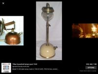 Wanted Tilley Lamps also Tilley Spares any condition