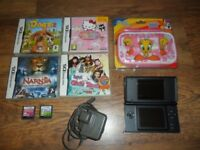 NINTENDO DS & 6 GIRLS GAMES
