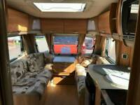2010 Swift Cardinal 550 4 Berth Side Bed Single Axle Awning