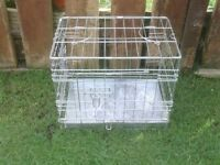 PET CAGE WITH METAL TRAY £10