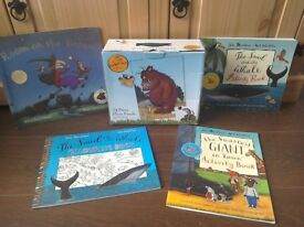 Julia Donaldson Snail & Whale Smartest giant in Town Gruffallo Room on the Broom