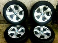 16 inch 5x120 genuine BMW alloys wheels. Trafic / Vivaro.