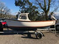 Plymouth Pilot 16ft fishing boat with 30hp four stroke plus trailer
