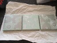 Next 3 piece canvas set