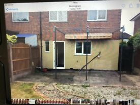 Spacious 3 bedroom house with a big garden to rent £750 PCM
