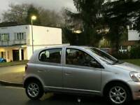 TOYOTA YARIS T3 1.0L 5DOOR 85000 WARRANTED MILES 9 SERVICES HPI CLEAR EXCELLENT CONDITION