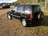 Jeep Cherokee, low miles, full service history