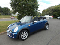 MINI ONE CONVERTIBLE STUNNING BLUE 2007 ONLY 44K MILES BARGAIN ONLY £2650 *LOOK* PX/DELIVERY
