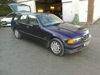 96 BMW 318 i 5 door Estate Moted 24 07 17 clean car ( can be viewed inside anytime)