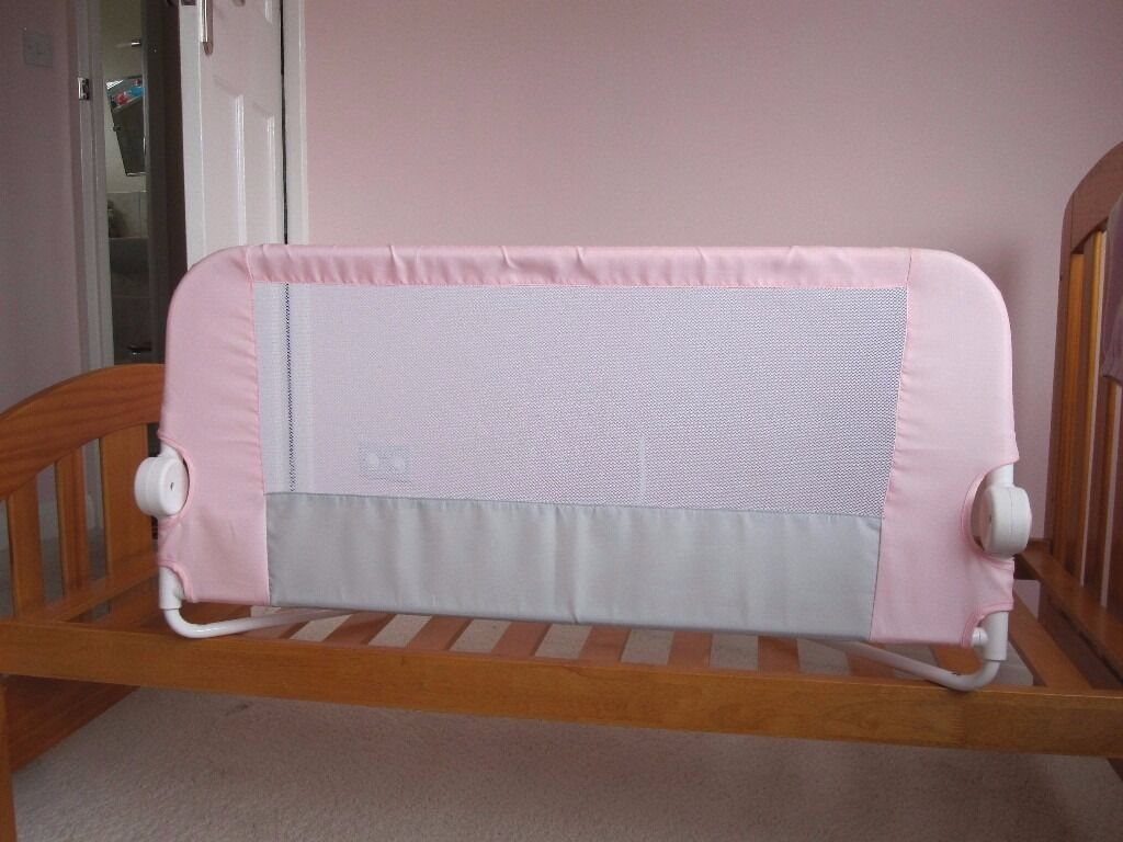 USED EASY FIT PINK LINDAM BED GUARD
