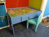Childrens Wooden Play table