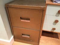 FREE: Two-drawer Filing Cabinet with Freedom Filer System and 60 hanging files