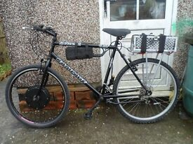 Electric 15 Gear Bike.