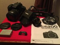 Canon 500D professional digital camera and exras - perfect condition - hardly used