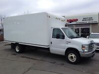 2012 Ford Econoline E350 16'cube,fin or lease from4.99%OAC CARGO