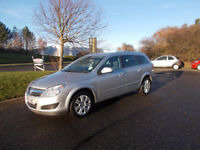 VAUXHALL ASTRA 1.7 CDTI DIESEL DESIGN ESTATE STUNNING SILVER 2010 BARGAIN £1950 *LOOK* PX/DELIVERY