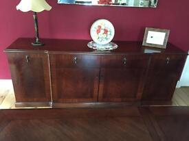 Mahogany side dresser