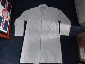 Warehouse/Lab coat.