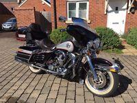 Harley Davidson ultra electra glide classic 1989 evolution motorbike tourer HD