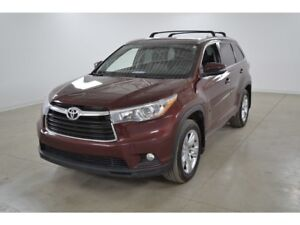 2015 Toyota Highlander Limited 4WD GPS*Cuir*Toit Ouvrant*Camera