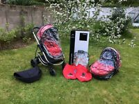 iCandy Strawberry Travel System / Pram - Immaculate Condition - Nearly New!