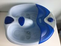 Footspa Blue Scholl with accessories