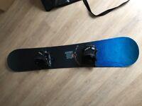 GNU snowboard and FLOW bindings