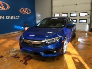 2017 Honda Civic EX-T TURBO/ POWER ROOF/ HONDA SENSING SUITE!