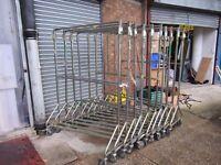 Heavy Duty Hanging Garment Rail Space saving Nest design Ideal Shop / Market / Online Seller Etc