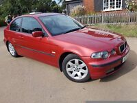 316TI SE COMPACT, 2 FORMER KEEPERS, VERY FULL SERVICE HISTORY and NEW MOT