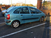 2003 CITROEN XSARA PICASSO MPV, EXCELLENT FAMILY CAR. MINT CAR, LONG MOT.