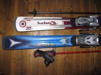 Atomic skis + Leki poles