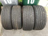 "Porsche Boxster 17"" winter tyres full set"