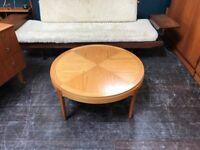 Sunburst Coffee Table by Stonehill. Retro Vintage Mid Century