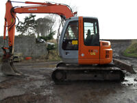 2002 Hitachi EX 75 360 Excavator