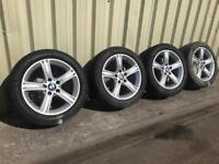 BMW F30 Set of Alloys Rims & Tyres
