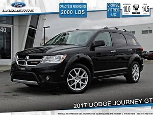 2017 Dodge Journey **GT*AWD*CUIR*7 PASSAGERS*CRUISE*A/C 3 ZONES*
