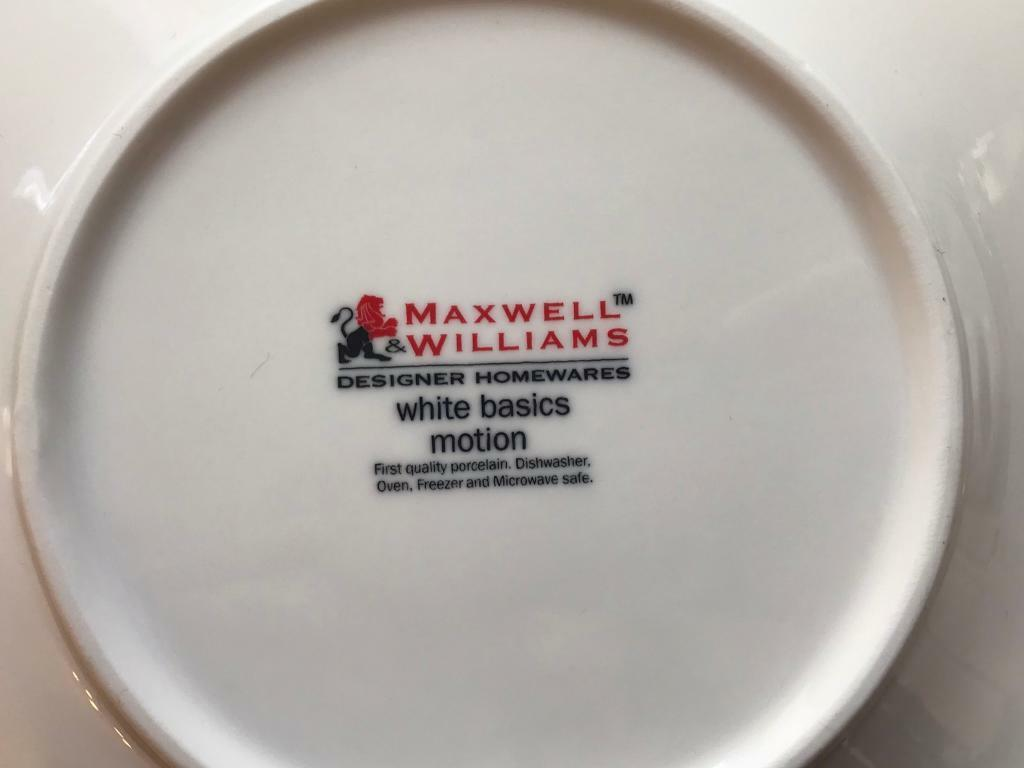 Dinnerware Maxwell Williams Motion Various Plates And Bowls Not A Full Set In Norwich Norfolk Gumtree