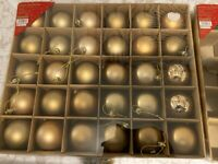 xmas baubles Dunelm mill ** Free ** Brand new boxed