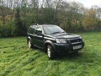 2004 TD4 Land Rover Freelander Manual Diesel, 126k miles, service history, part leather