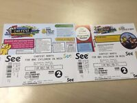 2 Adult Carfest North Tickets 3 day 29th - 31st July 2016
