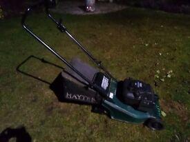 Hayter Harrier 41 Petrol Push lawn mower with roller